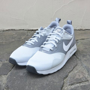 nike (ナイキ) NIKE AIR MAX TAVAS ESSENTIAL -(002)WHITE/GREY-