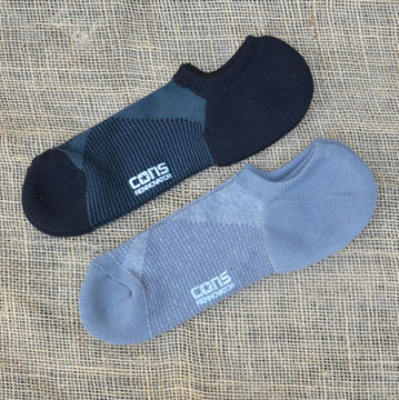 【30% off sale】 CONS RENNOVATOR(コンズ・リノベーター) Short Socks -(219)Black  (215)Grey-