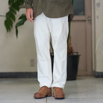 orSlow(オアスロウ) FRENCH WORK PANTS (UNISEX) -(66)ECRU -