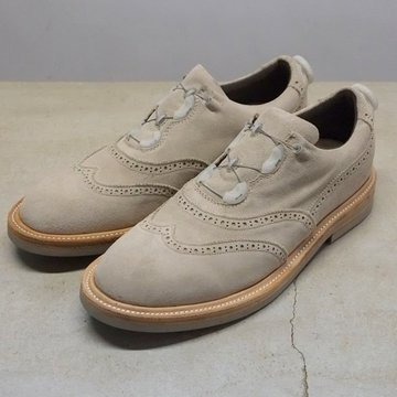 SPECTUS SHOE CO.(スペクタスシュー) WING TIP BALMORAL -BEIGE-