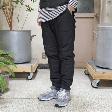 【40% off sale】ts(s) (ティーエスエス) Polyester High Count Cloth Climbing Pants -BLACK-【Z】