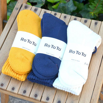 RoToTo(ロトト) LOOSE PILE SOX -3色展開-