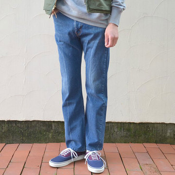 YOUNG&OLESEN(ヤングアンドオルセン) Young western Jeans -washedout-