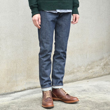 LEVI'S VINTAGE CLOTHING (リーバイス・ビンテージ・クロージング) 606 SUPER SLIM 1960's SKINNY JEANS/ORANGE TAB-RIGID-