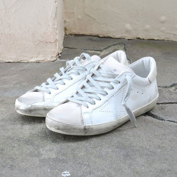 GOLDEN GOOSE (ゴールデングース) SNEAKER SUPER STAR -(A5)WHITE SKATE- #GCOMS590-A5