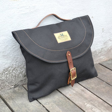 SEIL MARSCHALL(サイル マーシャル) CANVAS BRIEFCASE -(99CA)BLACK-