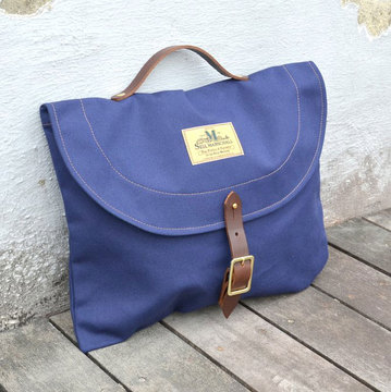 SEIL MARSCHALL(サイル マーシャル) CANVAS BRIEFCASE -(39CA)NAVY-