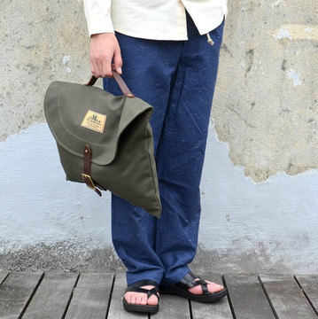 SEIL MARSCHALL(サイル マーシャル) CANVAS BRIEFCASE -(48CA)KHAKI-