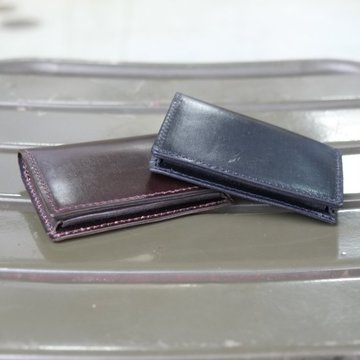 MASTER&Co.(マスターアンドコー) UK Bridle Leather Card Case -BLACK-