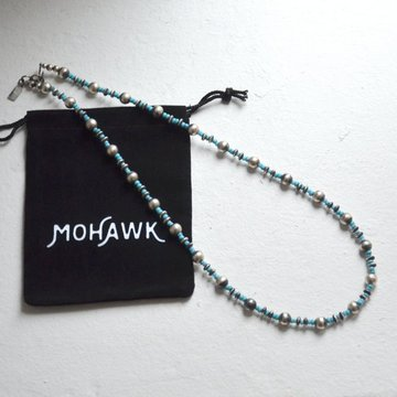 MOHAWK(モホーク) Silver Vintage Beads Necklace