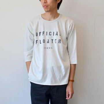 【40% off sale】WHITE LINE(ホワイトライン) vintage T-shirts(SILENT POETS) -WHITE- #WLC317