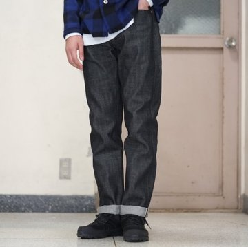 orSlow(オアスロウ) IVY FIT DENIM -(D61)BLACK DENIM- #01-0107-D61