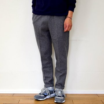 FLISTFIA(フリストフィア)/Relaxed Trousers -CHARCOAL GRAY- #RT01016