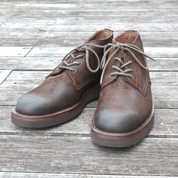 【別注】 MOTO(モト)/ 5 inches Lace-Up Boots(Velours) -BROWN- #16361