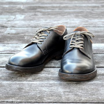 MOTO(モト)/Plain Toe Oxford #1648 -BLACK-