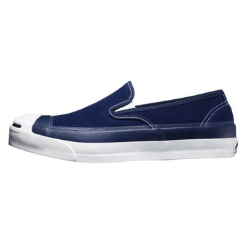CONVERSE ADDICT(コンバース アディクト) JACK PURCELL CANVAS SLIP-ON -NAVY-