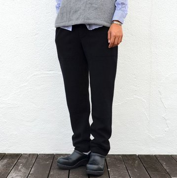 【40% off sale】ts(s) (ティーエスエス) Slim Sweat Pants -BLACK- #LT35XC03