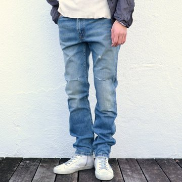 LEVI'S VINTAGE CLOTHING (リーバイス・ビンテージ・クロージング) 606 SUPER SLIM 1969's SKINNY JEANS/ORANGE TAB-Customized- #30605-0057