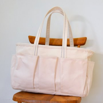 raregem(レアジェム)/ TACKLE TOTE -WHITE-#2016-013