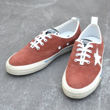 GOLDEN GOOSE (ゴールデングース) SNEAKER CALIFORNIA -(A3)BORDAUX SUEDE- #G30MS560