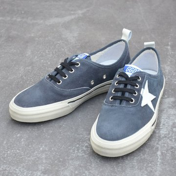 GOLDEN GOOSE (ゴールデングース) SNEAKER CALIFORNIA -(A2)BLACK SUEDE- #G30MS560