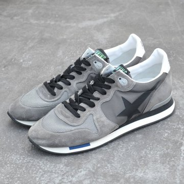 GOLDEN GOOSE (ゴールデングース) SNEAKERS RUNNING -(N2)GREY- #G30MS593