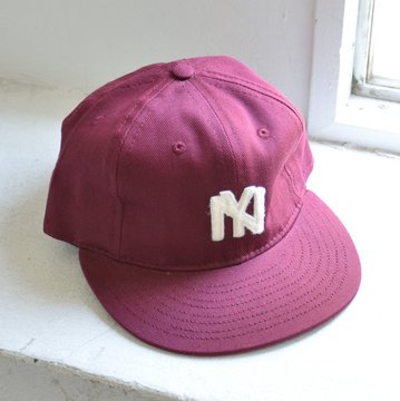 EBBETS FIELD FLANNELS(エベッツ・フィールド・フランネルズ)/  6PANEL BROOKLYN EAGLES 1935(COTTON)-BURGUNDY- #BROOKLYN-1935