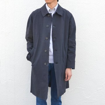 【50% off sale】Harris Wharf London(ハリスワーフロンドン)/ Creased Cotton Oversized Coat -(359)dark blue- #C9136PYC