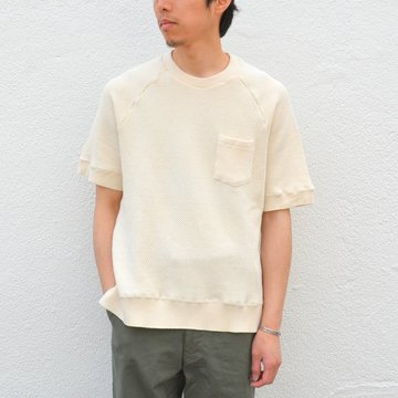 【40% OFF SALE】FLISTFIA(フリストフィア)/Short Sleeve Pull Over -Off White- #SO02016