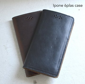 FERNAND LEATHER(フェルナンド・レザー)/I Phone Case (iphon 6plus) -2色展開-