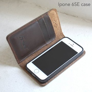 FERNAND LEATHER(フェルナンド・レザー)/I Phone Case iphon SE -2色展開-