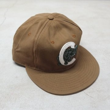 EBBETS FIELD FLANNELS(エベッツ・フィールド・フランネルズ)/  6PANEL CIEBFUEGOS ELEFANTES (COTTON)-BROWN-