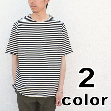 SUBTLE(サートル)  Roll Pocket S/S Tee Calm Jersey - 3 color - #SUBTLE-SS