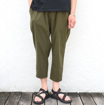 【40% off sale】EVERLAST(エバーラスト)/ WIDE GYM PANTS -KHAKI- #G1712-3G50