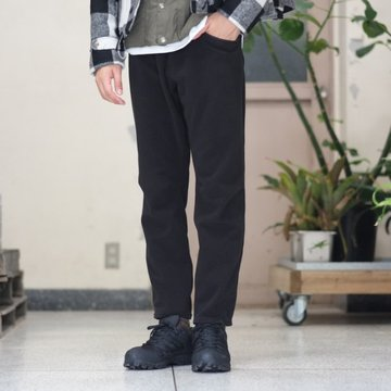 South2 West8(サウスツーウエストエイト) 1P Cycle Pant [Polaetec/Classic Fleece] -BLACK-  #BG825