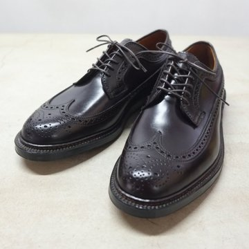 Alden(オールデン) LONG WING TIP(Cordovan) - #8/BURGUNDY - #975