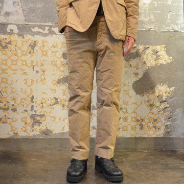 【40% OFF SALE】 ts(s) (ティーエスエス) Thin Wale Stretch Corduroy Cloth Padded L-pocket Pants -(59)Khaki #ST37IP03