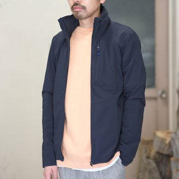DESCENTE ALLTERRAIN(オルテライン)/ STRETCH PACKABLE JACKET -GRNV- #DAMLGC43