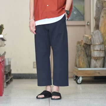 YAECA(ヤエカ)  2WAY TAPERED PANTS -NAVY- #58604