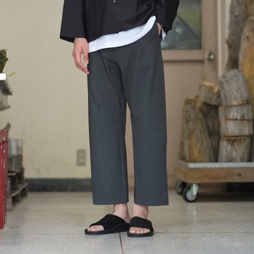 YAECA(ヤエカ)  2WAY TAPERED PANTS -Ch.GRAY- #58604