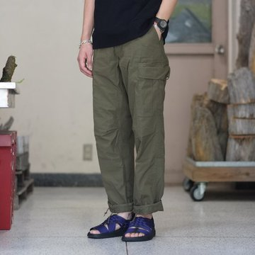 orSlow(オアスロウ) VINTAGE FIT 6POCKET CARGO PANTS(UNISEX) -(76)ARMY GREEN- #03-V5260RIP-76