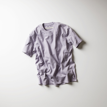 【18 SS】Curly(カーリー) HELICAL SS TEE  -3色展開(WHITE。、LAVENDER。、Lt GRAY)- #182-04041