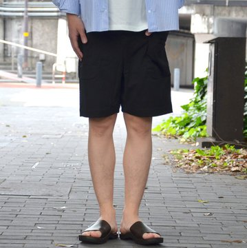 【2018 SS】 A VONTADE(ア ボンタージ) Weekend Shorts -#9 BLACK- #VTD-0484-CS