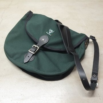 South2 West8(サウスツーウエストエイト) 18OZ CANVAS BINOCULAR BAG LARGE -HUNTER GREEN-
