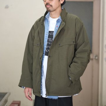 【2018 AW】NEEDLES (ニードルズ) chemical protective jacket [wax coating] -OLIVE- #DI079