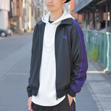 【2018 AW】NEEDLES (ニードルズ) TRACK JACKET [Poly Smooth] -BLACK- #DI079