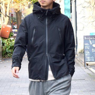 DESCENTE ALLTERRAIN(オルテライン)/ACTIVE SHELL JACKET -BLACK- #DAMMGC45