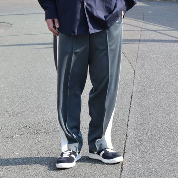 Graphpaper(グラフペーパー) Jersey Track Pants -GRAY- #GM191-40017