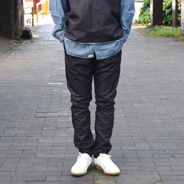 【2019 SS】BROWN by 2-tacs (ブラウンバイツータックス) TAPERED -Indigo- #B21-P001