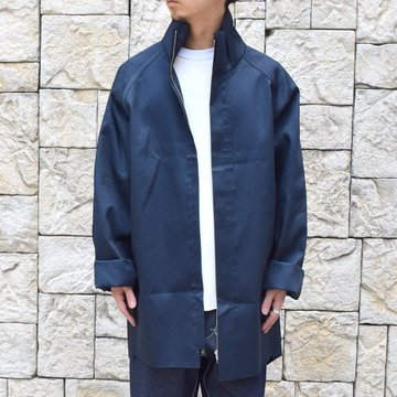 【30% off sale 】 CAMIEL FORTGENS(カミエル フォートゲンス)/FOOTBALL COAT RUB MACKINTOSH